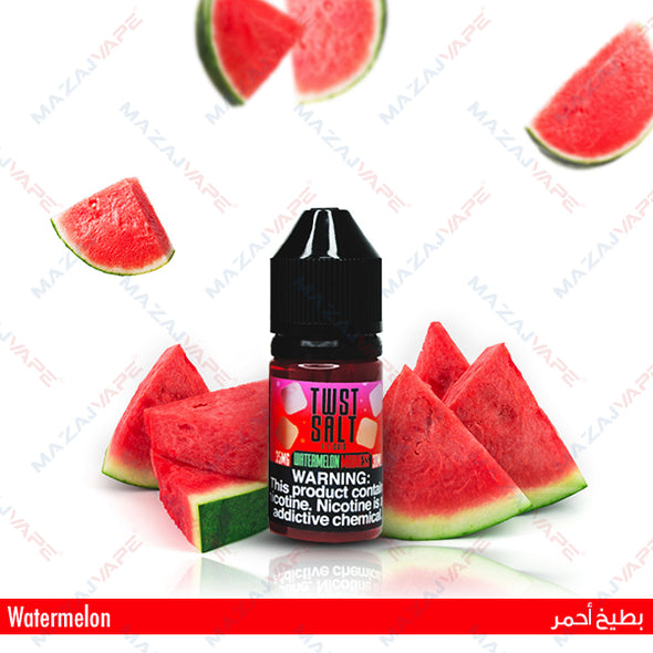 Melon Twist E-Liquids - Watermelon Madness Salt - 1x30ML - vaporclub