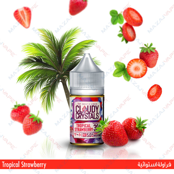 Cloudy Crystals - Tropical Strawberry - vaporclub