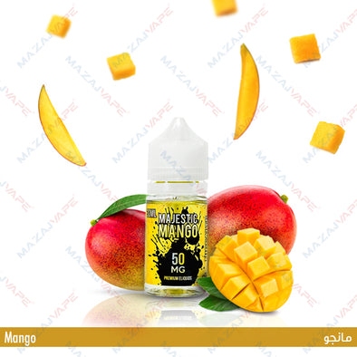 Mighty Vapors Salts - Majestic Mango - vaporclub