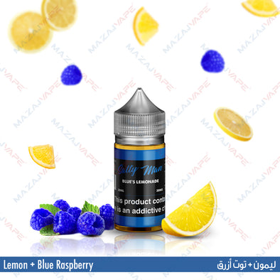 Salty Man Vapor Ejuice - Blue's Lemonade - vaporclub