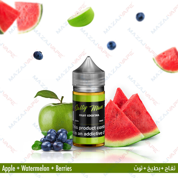Salty Man Vapor Ejuice - Fruit Cocktail - vaporclub