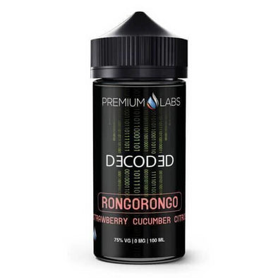 Decoded eLiquid - Rongorongo - vaporclub