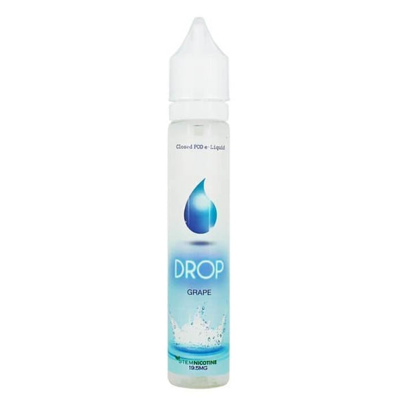 Drop Salt Nicotine E-Liquid - Grape - vaporclub