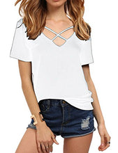 Women's Summer Cross Front Tops