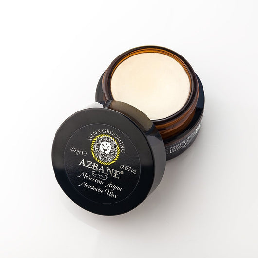 Premium Mustache Wax with PURE Moroccan Argan