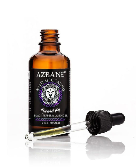 Premium Organic Beard Oil  - Black Pepper & Lavender