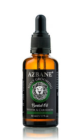 The Best Argan Conditioning Beard Oil - Vetiver and Cardamom