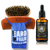Beard Comb with Beard Oil Sample | Men's Grooming Kit  Starter