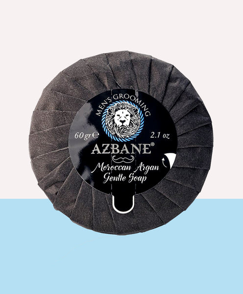 Argan Gentle Beard care and Shave Soap  - For Sensitive skin