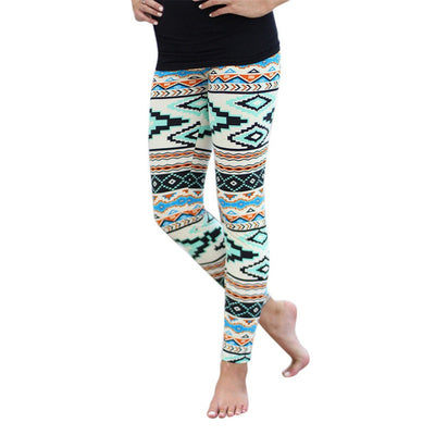 AZTEC Print Leggings for Women in Multiple Styles - Byrne Berlin