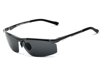 ISSAK Polarized Aluminum Rimless Sunglasses for Gents - Byrne Berlin