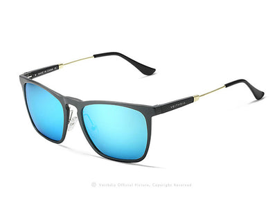 HAIDYN Square Retro Aluminum Sunglasses for Gents - Byrne Berlin