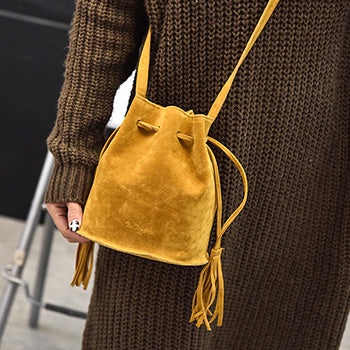 FALL Mara's Dream Designer handbags high quality Women Bag Messenger Bags New Handbag Tassel Bucket Shoulder Handbags Crossbody 2017 - Byrne Berlin