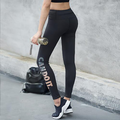 CAN DO IT Fitness or Training Leggings for Women - Byrne Berlin