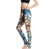 BREEZE High Waist Butterfly Print Women's Sport Leggings - Byrne Berlin