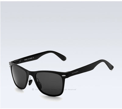 VEITHDIA Fashion Designed Mirrored Lens Aluminum Frame Sunglasses for Gents