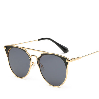LE YORK SHEER Round Fashion Runway Women's Sunglasses - Byrne Berlin