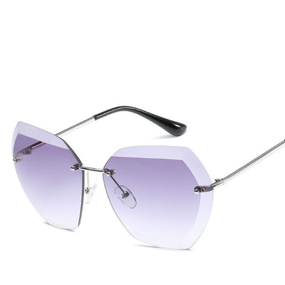 LE JASMINE Oversize Beveled and Beautiful Women's Sunglasses - Byrne Berlin