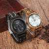 PASSAGE Wood and Metal Chronograph Quartz Watch for Gents - Byrne Berlin