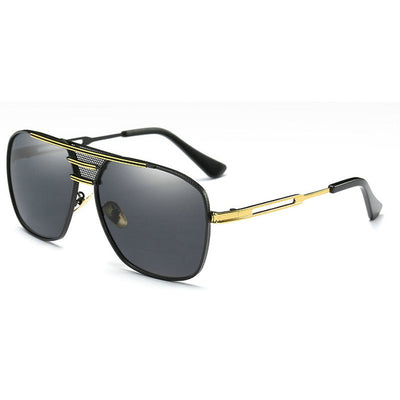NAPOLI Luxury Lightweight Alloy Frame Gradient Lens Sunglasses for Gents - Byrne Berlin