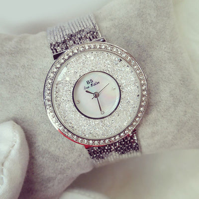 DYNASTY MOON Rhinestone Luxury Hidden Clasp Dress Women's Watch - Byrne Berlin