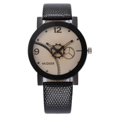 PARKER Steel Dial Analog Quartz Fashion Watch for Gents - Byrne Berlin