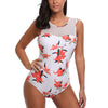 ISABEAUX Mesh Top Floral One Piece Women's Swimsuit - Byrne Berlin