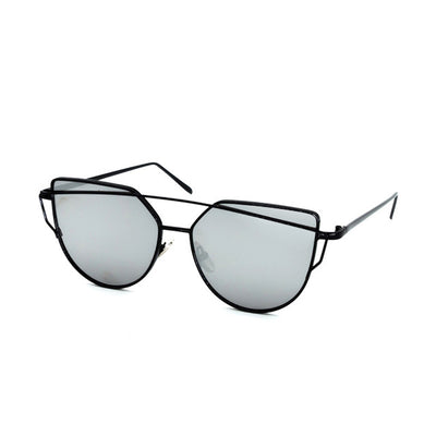 LUNETTI Vintage Chic Reflective Cat Eye Women's Sunglasses - Byrne Berlin