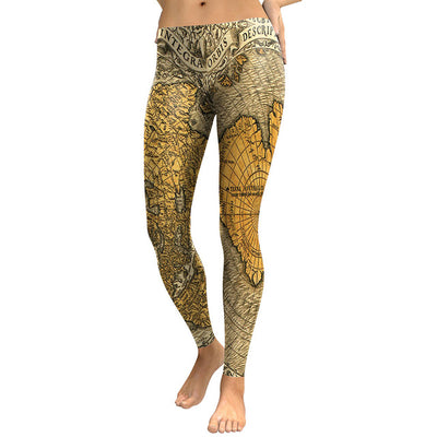 ORBIS INTEGRA Print Workout Leggings for Women - Byrne Berlin