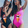 CUTE N COOL Ice Cream Motif Women's Swimsuit - Byrne Berlin