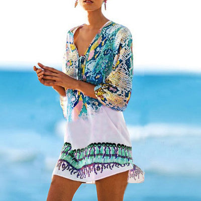 BOHEMIAN BEACH Women's Swimwear Cover Up - Byrne Berlin