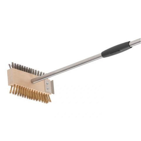 Double Brush for grill and BBQ