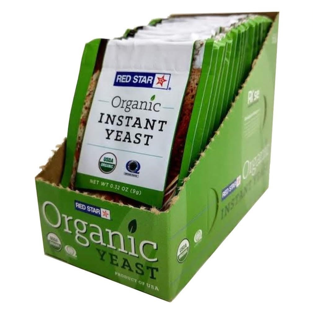Red Star® Organic Instant Dry Yeast – 40 Packets