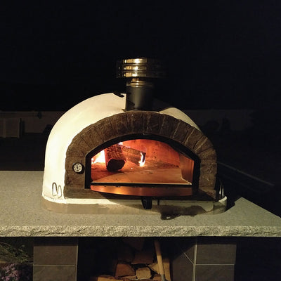 Authentic Pizza Ovens Chimney Pipe Cap - Wood-Fired Pizza