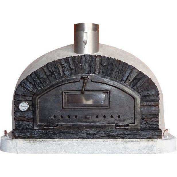 Authentic Pizza Ovens - Buena Ventura Premium Black Wood-Fired Pizza Oven Firewalker Ovens