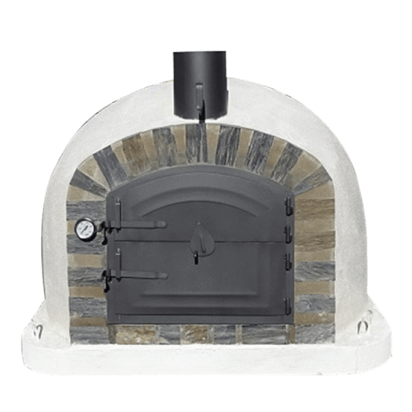 Authentic Pizza Ovens - Lisboa Stone Arch Wood-Fired Pizza Oven Firewalker Ovens