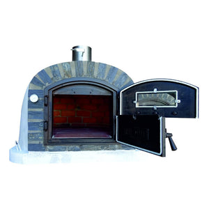 Authentic Pizza Ovens - Lisboa Stone Arch Premium Wood-Fired Pizza Oven Firewalker Ovens