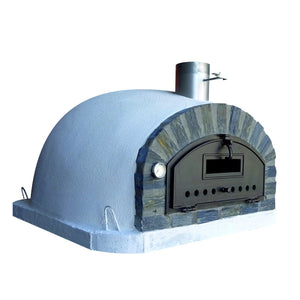 Authentic Pizza Ovens - Pizzaioli Stone Arch Premium Wood-Fired Pizza Oven Firewalker Ovens