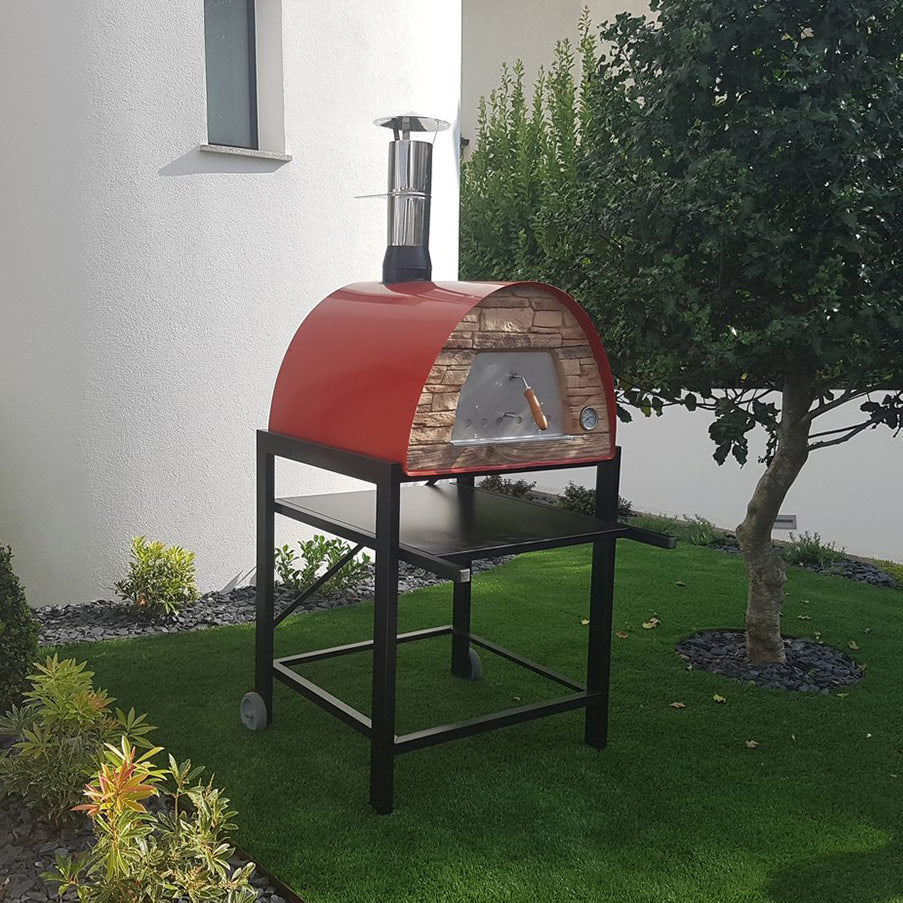 Authentic Pizza Ovens - Maximus Arena Mobile Wood-Fired Pizza Oven Firewalker Ovens