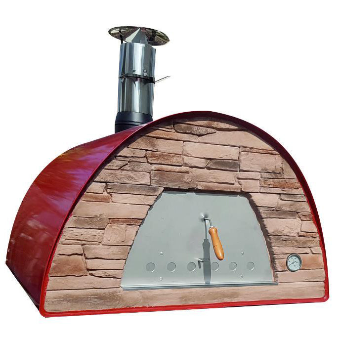 Authentic Pizza Ovens - Maximus Prime Arena Portable Wood-Fired Pizza Oven