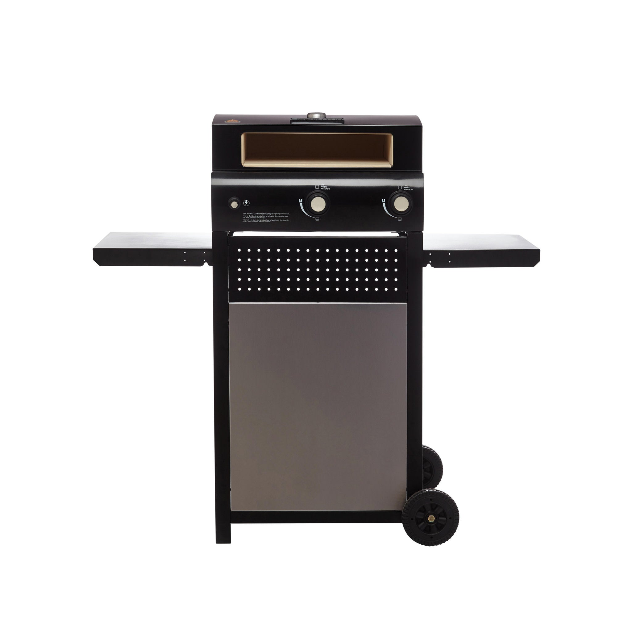Bakerstone Gas Pizza Oven Box With Cart Firewalker Ovens