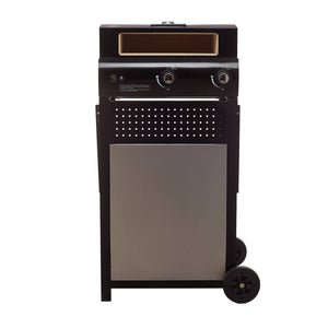 Gas Pizza Oven Box with Cart from Firewalker Ovens by BakerStone