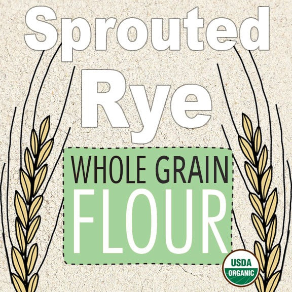 Organic Sprouted Rye Whole Grain Flour