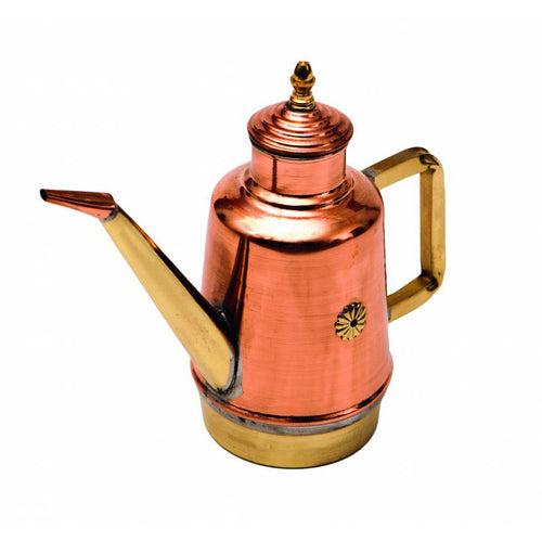 Artisan Made Copper Oil Cruet - Firewalker Ovens '8019618200940 OL05