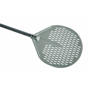 Round Pizza Peel with Aluminum Head and Carbon Fiber Handle - Firewalker Ovens '8019618116692 ACB-32F