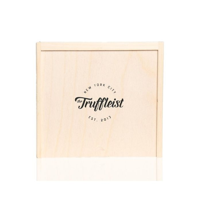 Truffleist Wooden Gift Box With Truffle Butter