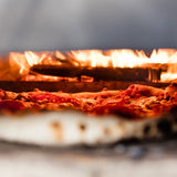 Ooni Pro Pizza Oven Pizza in Fire