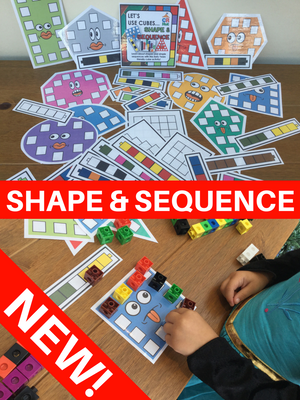 NEW! Shape & Sequence - Let's Use Cubes