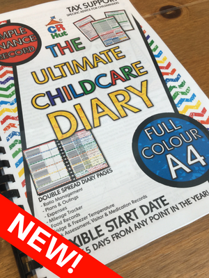 NEW! The Ultimate Childcare Diary