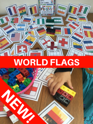 NEW! World Flags - Let's Use Cubes